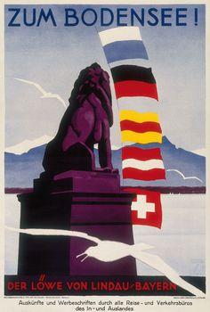 Bodensee Ludwig Hohlwein 1935