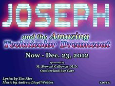 Joseph And The Amazing Technicolor Dreamcoat at Cumberland County Playhouse