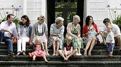 Danish royales at Graasten
