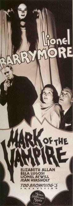 1935 - La marca del vampiro - Mark of the Vampire - Stars: Lionel Barrymore, Elizabeth Allan, Bela Lugosi, Lionel Atwill