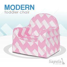 The Little Reader Chair from P'kolino is completely child friendly. Like on Instagram @LiapelaModernBaby