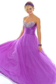 BallGown Sweetheart Chiffon Floor-length Purple Quinceanera Dress at sweetquinceaneradress.com