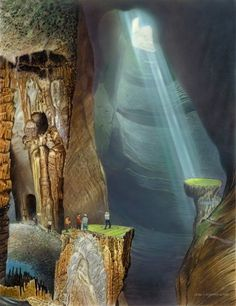 Bud Chapman Gallery  hours ago Original captions at A spelunker's paradise of spectacular stalagmites, stalactites and enormous caverns Fantasy Golf, Golf Pictures, Golf Art, Ryder Cup, Color Correction, Landscape Architecture, Bud, Giclee Print, Waterfall