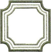 Frame 2 (applique). Border element to use stand-alone or as accents to other designs or monograms.