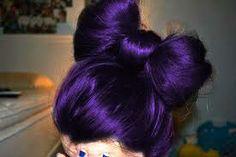 Colorful Bow Hair  #tumblr