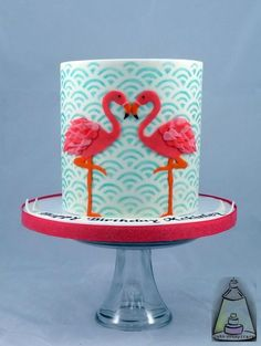 Flamingo Cake