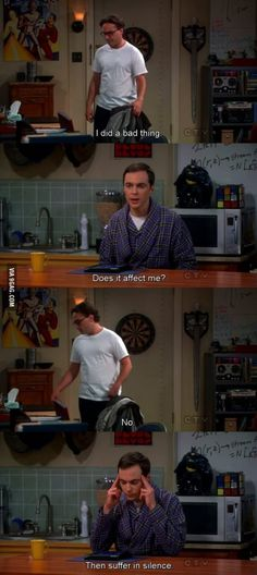 Sheldon at his best - 9GAG