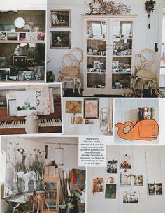 Helena Christensen home - style, interior, design, decor