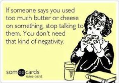Who needs negative people in their lives?  www.skinnyfiber.ca