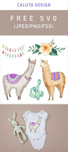 FREE Watercolor Alpaca Graphic, Printable clip art download. Free printable clip art. 100% free for personal use, only $3 for commercial use. Perfect for DIY craft project with Cricut & Cameo Silhouette, card making, scrapbooking, making planner stickers, making vinyl decals, decorating t-shirts with HTV and more! Free alpaca graphic, free watercolor llama clip art, Llama printable, watercolor clipart download