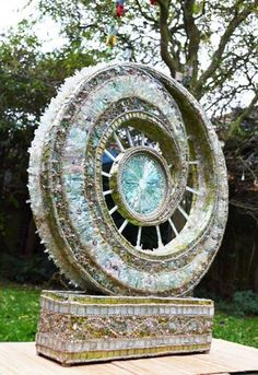 Artist's jewel-like recycled glass mosaics reveal nature's consciousness : TreeHugger
