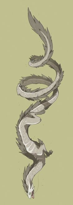 Is this a wyvern from Terraria? -> Correction this is not a wyvern, wyverns have a pair of wings and legs. Mythical Creatures Art, Mythological Creatures, Magical Creatures, Creature Concept Art, Creature Design, Fantasy Dragon, Fantasy Art, Dragon Sketch, Fantasy Beasts