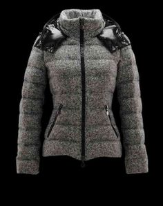 Cheap Women's Moncler Astere Outerwear Grey