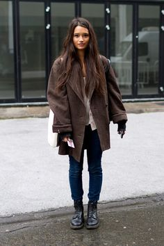 #fall #style #girl #brown