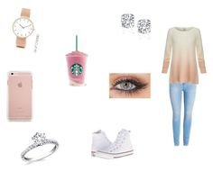 Pretty in pink by kenzie12345 on Polyvore featuring polyvore, beauty, ASOS Curve, Joie and Converse