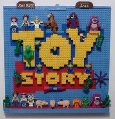 "LEGO  "" Toy Story"" by Brucewaynelego-Toyshansolo, via Flickr"