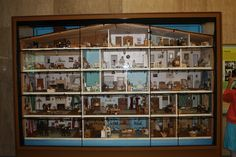 The 23-Room Dollhouse at the Smithsonian's National Museum of American History, Washington DC