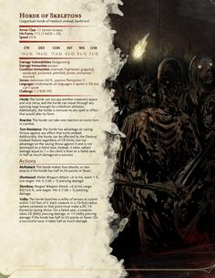 RPG sandbox — The Book of Hordes - Rules for Mass Warfare by. Dungeons And Dragons Rules, Dungeons And Dragons Homebrew, Horde, Dnd Stats, Rpg Map, Dungeon Master's Guide, Dnd 5e Homebrew, Dnd Monsters, Fantasy Monster