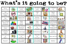 Whole class incentives... good ideas on here, but totally adaptable. Going to…                                                                                                                                                     More