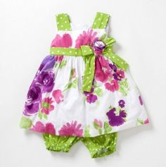 Looks like the perfect outfit for one of future grandbabies!  Too cute.