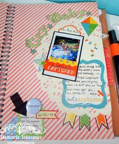... At Studio D: Simple Smashbook