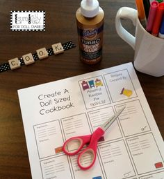 Miniature Cookbook For Doll Sized Chefs — Doll Diaries