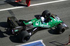 Michele Alboreto, 1983 com Tyrrell 012