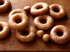 Homemade Glazed Doughnuts Recipe : Ree Drummond : Food Network - FoodNetwork.com