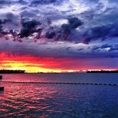 Who Painted the Majestic Key West Sunset tonight ...