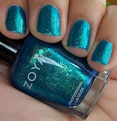 I own this color, and yes, it is as pretty as it looks in this picture =) #Zoya #Charla