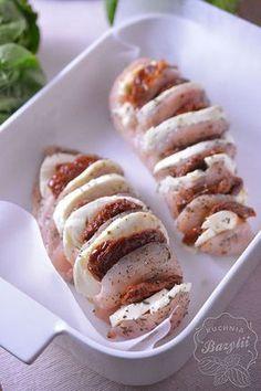 Yummy Mummy, Mozzarella, Baked Potato, Sausage, Potatoes, Baking, Ethnic Recipes, Foods, Food Food