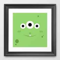 Frox Framed Art Print by Il Nostro Mostro - $32.00
