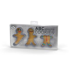 ABC Cookies Cookie Cutter Set