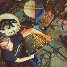 Workin hard, gettin wierd // Tuesday night jams in the studio cave for Record No 6