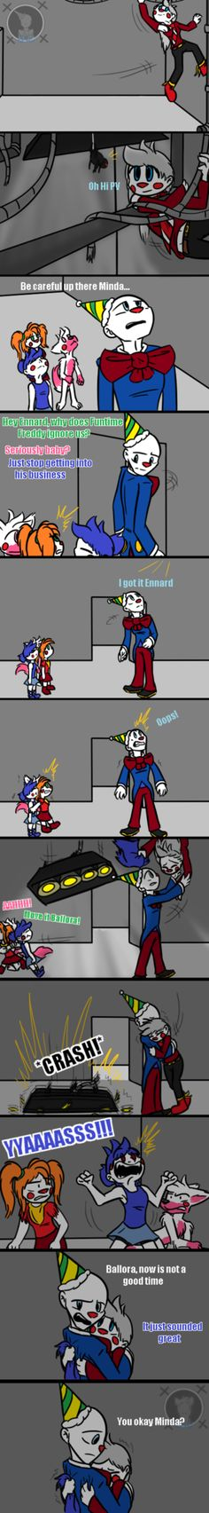 Washed Away Sorrows (FNAF Comic) Pt.3 by Blustreakgirl