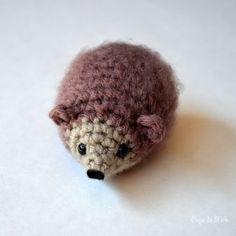 Patron amigurumi Crochet : Petit hérisson