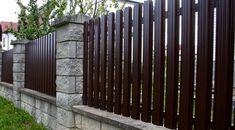7 Mind Blowing Tips: Cheap Fence For Back Yard brick fence with hedge.Corrugated Aluminum Fence backyard fence on a budget. Garden Fence Panels, Fence Plants, Lattice Fence, Front Yard Fence, Fence Art, Farm Fence, Front Yards, Small Fence, Dog Fence