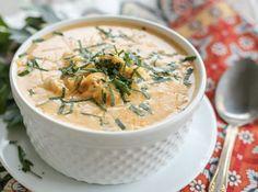 ketogenic instant pot buffalo chicken soup recipe