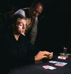 """Steve McQueen en """"El Rey del Juego"""", 1965"""