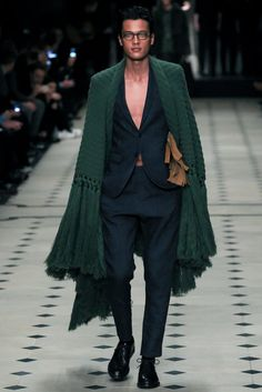 Burberry Prorsum - Fall 2015 Menswear