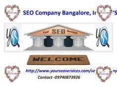 seo-company-bangalore-india-yss by Chandramani Das via Slideshare