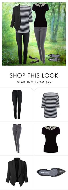 """""""STITCHFIX!  Please pay attention! I need these two tops!!"""" by pearse on Polyvore featuring Saint James, LE3NO and Oasis"""