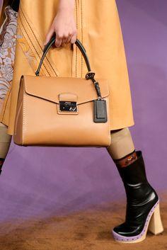 Prada Spring 2015 hand bag camel- http://yourbagyourlife.com/