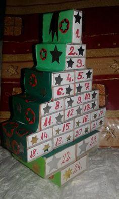 Villamgyors adventi kalendarium