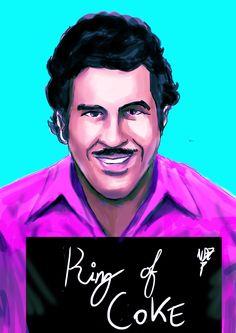 Pablo Escobar by Ndzanga.deviantart.com on @DeviantArt