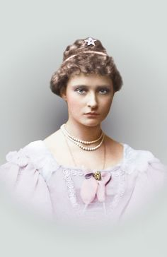 Princess Alix of Hesse, 1887 (the future Empress Alexandra of Russia)