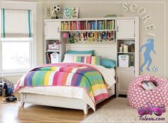 Teen Girl Bedrooms - From sweet to dazzling teen girl room information. Fancy for extra eye popping teen room styling designs simply visit the image to study the pin suggestion 6872886609 at once Teenage Girl Bedroom Designs, Bedroom Decor For Teen Girls, Teenage Girl Bedrooms, Bedroom Themes, Bedroom Ideas, Girl Rooms, Teenage Room, Preteen Bedroom, Baby Rooms