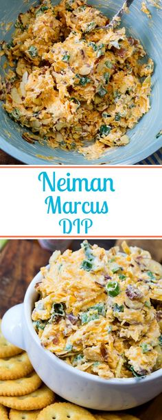 Neiman Marcus Dip Neiman Marcus Dip- Like pimento cheese, but better! Cold Appetizers, Appetizer Dips, Appetizer Recipes, Italian Appetizers, Southern Appetizers, Holiday Appetizers, Southern Recipes, Snack Recipes, Neiman Marcus Dip