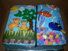 Nemo and Lion King story book
