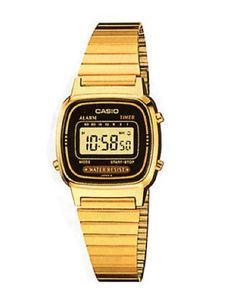 Casio Vintage LA670WGA-1D - Orologio da polso Donna: Amazon.it: Orologi